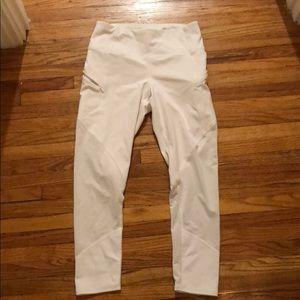 White Athletics leggings